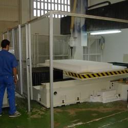 C.N.C milling machine